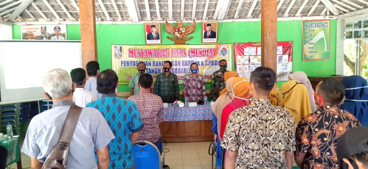 Merajut Asa Di Tengah Wabah Melalui Musyawarah Desa